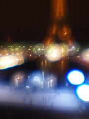 Eiffel tower ice rink