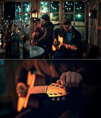 raw acoustic minimal. (paradax ART) Tags: music collage hands raw bokeh smooth guitars guys acoustic simpel