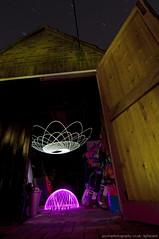 oh behave (~ jules ~) Tags: longexposure pink light white lightpainting night painting stars spiral julian nikon paint garage marshall tokina dome jules swirly spirograph t7 lapp lenser physiogram 1116mm d300s jayemphotographycouk