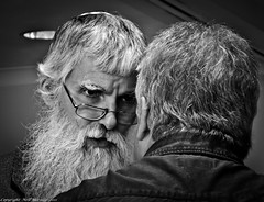 Now my son what you need to do is............. (Neil. Moralee) Tags: old sun man cold men loss hair beard warm glare sad bright tales gray bald mature memory angry disappointed older jewish bible advice rabbi wiser rabbis intefere neilmoralee