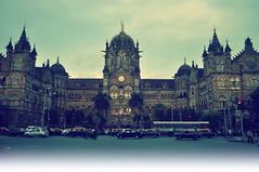 CST Terminus (Abhijit Chendvankar) Tags: india building heritage monument station train photography site architechture nikon trains bombay mumbai vt bharat cst d5000 nikonflickraward