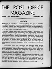 1934 article predicting the internet and mobile phones (British Postal Museum & Archive) Tags: 1930s internet postoffice royalmail mobilephones prediction gpo cellphones generalpostoffice smartphones thepeoplespost thepostofficemagazine