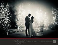 An Odd Question.... (LeslieStJohnPhotography) Tags: wedding photography groom bride dress fireworks barbados destination