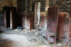 Hasard Cheratte (sensaos) Tags: urban abandoned rust mine factory belgium decay room exploring ruin rusty belgi rusted safe exploration abandonment ue urbex