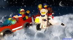 Day 358 (chrisofpie) Tags: chris pie monkey lego doug legos hero heroes minifig roger minifigure bluehat legohero chrisofpie rogeranddoug 365legos dougthechimp