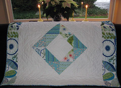 back of hst zig-zag quilt (aquilterstable) Tags: zigzag hst