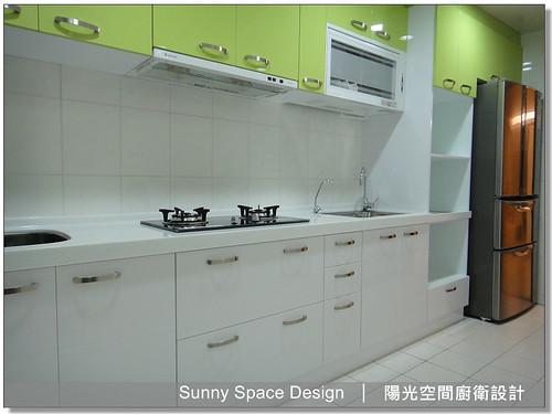 中和中正路1弄黃小姐清爽系廚具-陽光空間廚衛設計27