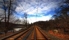 Light Rail Tracks (ozoni11) Tags: lake nature landscape landscapes nikon lakes sigma maryland baltimore hdr sigma1020mm baltimoremaryland lakeroland roberteleepark michaeloberman ozoni11