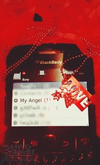 My Angel (hadaas10) Tags: red black angel berry blackberry bb