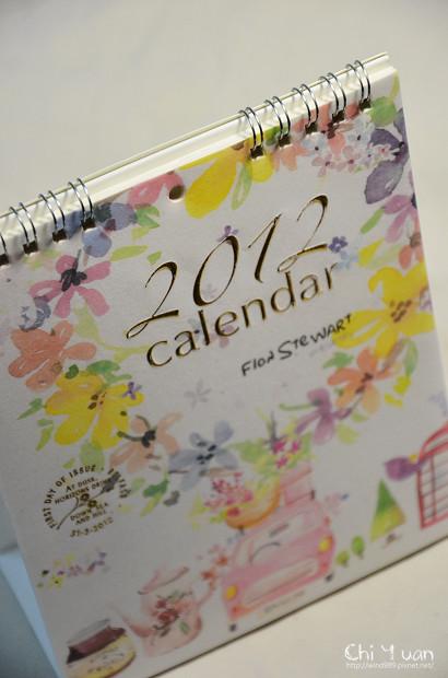 [好物]2012Fion Sweet郵票桌曆。創造美好一年