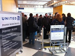 United Airlines Degradation of Primmer Security Line Access