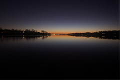 First Light of 2012 (dK.i photography (counting down)) Tags: longexposure sunrise canon glow maryland 365 annapolis predawn firstlight 375 southriver 366 112012 5dmkii singhrayrgnd ef1740f40lusm 395seconcds