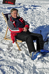 Soaking up the sun (Alistair Koh) Tags: christmas sky holiday snow ski mountains beautiful happy holidays skiing altitude awesome bubbles powder hills snowboard lovely skis polls snowboards lifts