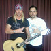 Guitarist - TGF founder Damon Marks with Bret Michaels