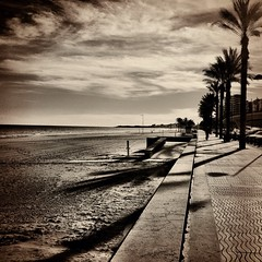 La Playa (Fotomondeo) Tags: sea sky espaa sun sol beach water valencia mar spain sand agua playa arena alicante campello iphone laplayadesanjuan