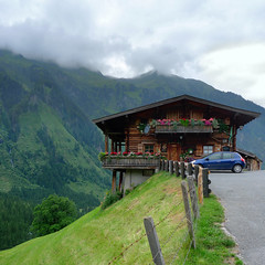 Vorhofalm beautiful situated on the ridge of the Stubachtal road (Bn) Tags: world road park family flowers wild summer vacation house holiday mountains alps beautiful rock forest walking geotagged cuisine restaurant austria wooden topf50 colorful day cloudy hiking meadows adorable style lodge glacier ridge homemade alpine national waterfalls steak valley biker viewpoint topf100 peugeot cosy hohe panoramo tollfree uttendorf tauern 100faves 50faves stubachtal weissee enzingerboden mygearandme vorhofalm schneiderau68 at5723 geo:lon=12607383 geo:lat=47199985