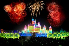 International Ice and Snow Festival in Harbin 2012 - 1 (kickitonMARS) Tags: china snow ice festival skulpturen eiskunst