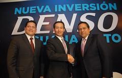 Construye DENSO nueva planta en Guanajuato. (Juan Manuel Oliva Ramrez) Tags: mxico honda guanajuato gto inversion mazda japon gobierno gobernador denso autopartes juanmanueloliva manueloliva