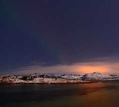 Kvalya mountains (John A.Hemmingsen) Tags: longexposure sky seascape mountains nature landscape norge nordnorge northernlights troms troms sommary nikkor1685dx nikond7000