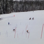 BCST women training in Nakiska -January 2012 - dual SL time