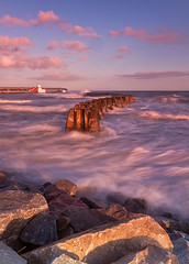 View of Arbroath (ccc6791) Tags: bay waves harbour arbroath ndgradfilters arbroathsteppingstones