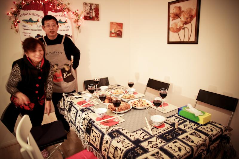 Chen Jie home dinner 011