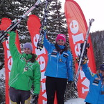 Nakiska Miele Cup Jan 14th, 2012 - Top 3 overall women