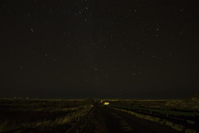 dunes stars nightphoto