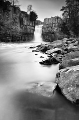 High Force B&W (clemansfield) Tags: longexposure blackandwhite mono waterfall le highforce teesdale bigstopper