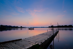 Dawn at Lower Seletar Reservoir, Singapore (Shutter wide shut) Tags: clouds sunrise dawn peace tranquility beginning serenity 1022mm hdr anewday lowerseletarreservoir canoneos7d
