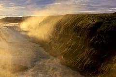 "Gullfoss im letzten Abendlicht, Island • <a style=""font-size:0.8em;"" href=""http://www.flickr.com/photos/73418017@N07/6730125989/"" target=""_blank"">View on Flickr</a>"
