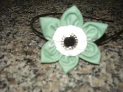 tiara de fuxico (felicidade24) Tags: flores de e fuxico emborrachado