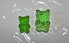 pissed gummy (imogen) Tags: vodka irene imogen gummy gummybear engorged