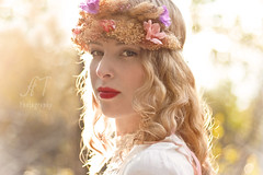 Ianna (Anny To Photography) Tags: park santa county flowers light portrait people sunlight flower nature fashion canon vintage outdoors photography model sonoma rosa conceptual angelic whimsical headband howarth atphotography annyto