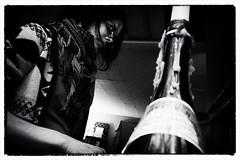 grilled cheese (j. Verspeelt) Tags: portrait blackandwhite bw ontario canada girl pen apartment olympus windsor ep2 1442mm