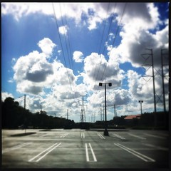 (MarkGoBlue) Tags: clouds powerlines loftus iphone iphone4 iphoneography dcfilm hipstamatic loftuslens loftusdc