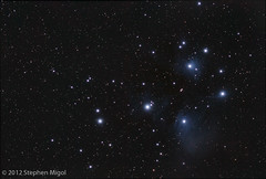 Pleiades September 10, 2010 (S Migol) Tags: pentax space nebula astrophotography m45 atlas maia astronomy opencluster messier sevensisters electra alcyone pleiades astrophoto pleione smigol celaeno merope pentaxk10d deepskyobject taygeta sterope maianebula Astrometrydotnet:status=solved stephenmigol stellarvuesv4 Astrometrydotnet:version=14400 copyright2012 unmodifieddslr Astrometrydotnet:id=alpha20120112933697