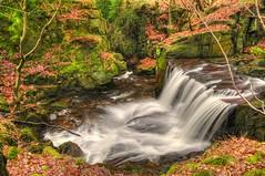 JEPSON'S CLOUGH WATERFALL, RIVINGTON, Nr HORWICH, LANCASHIRE. (ZACERIN) Tags: england waterfall nikon h2o lancashire rivington hdr horwich d300 nikond300 jepsonscloughwaterfall