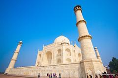 Three Pillars of Taj Mahal