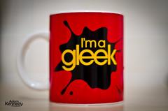 Day 30 - Gleek (Adam Kennedy Photography) Tags: coffee project geek mug tvshow 365 glee 50mmf18 366 gleek adamkennedy nikond7000