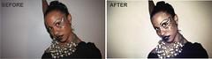 fabubous before after 2 (KES ART) Tags: art fashion bodypaint photoediting retouching photoretouching beforeafters photographykesart
