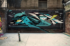 Rubin - NYC 2012 (Rubin415) Tags: nyc newyork les train subway graffiti chinatown lowereastside bb tcs cas rubin 4b nta 4burners tuffcitystyles