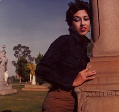 Alice Bag at the Cemetery (alice_bag) Tags: alicebag