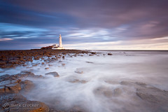 St. Mary's Misty Waters (images through a lens) Tags: uk england lighthouse sunrise europe unitedkingdom britain coastal tyneside whitleybay tyneandwear stmaryslighthouse