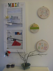 entryway (snifferooski) Tags: decorating handembroidery