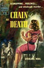 Chain of Death (54mge) Tags: vintage book bondage paperback crime cover novel brabbins