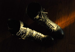 33/366 TWO boots: Week 5 (Lo8i) Tags: two boots pair pairs odt week29 shootanythingsaturday 7daysofshooting 2012inphotos 52weeks2012