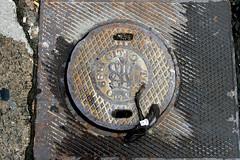 1889 - 043 - 2 - January 30, 2012 (collations) Tags: toronto ontario concrete pavement lookdown castiron 1889 manholes manholecovers drains sewers catchbasins accesscovers sewergrates torontoboardofworks pavementdetails