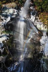 Freezing falls (snowyturner) Tags: waterfall frozen burrator reservoir dartmoor ice icicles winter