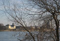 Blick auf Neuwied (Vielfaeltig2010) Tags: rhein eisblumen neuwied weisenthurm